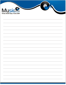 Custom Notepads Design Services & Printing Company in the USA