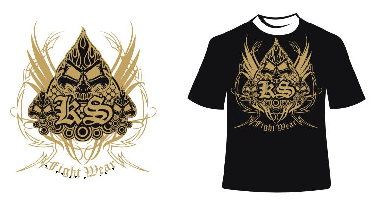 Shirt design portfolio for Logo t shirt maker